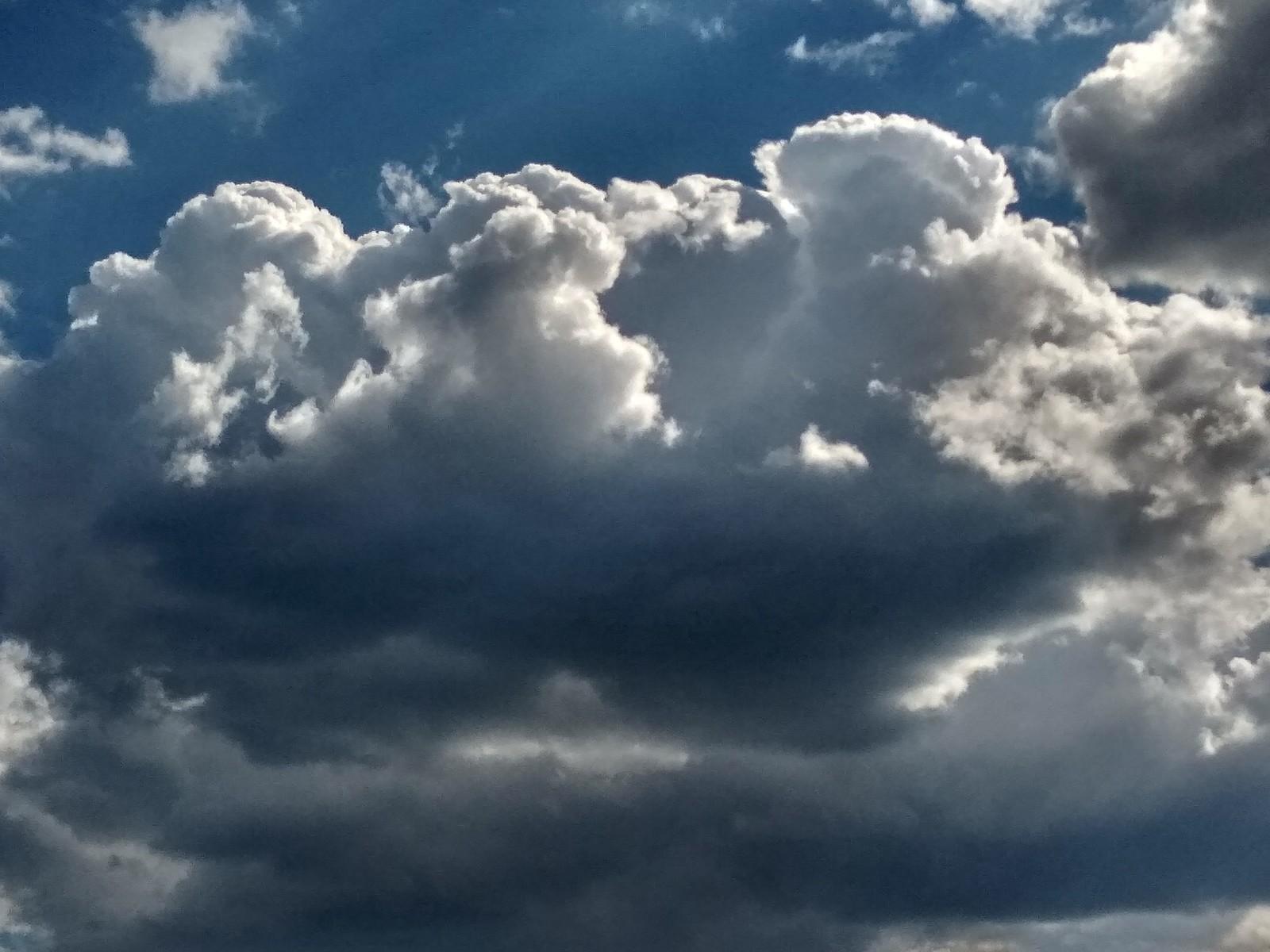 Обои Облака, необыкновенно, Пейзаж, яркие тона. Природа foto 15