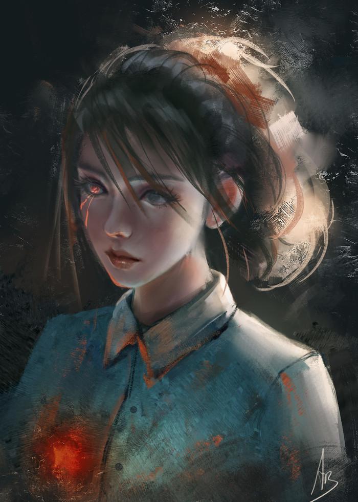 ByTrung Bui Trung Bui, Арт, Рисунок