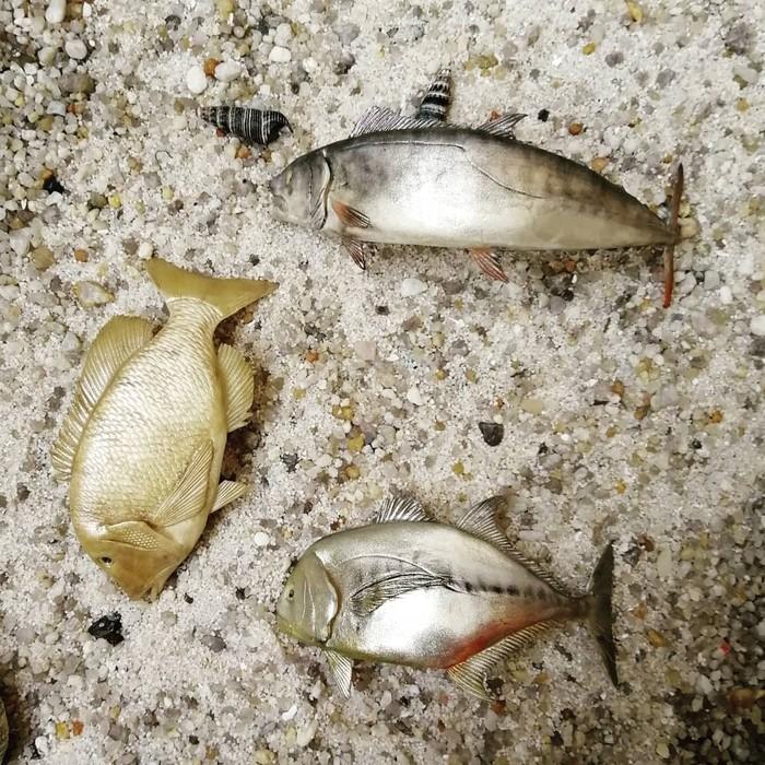 Рыбы Полимерная глина, Декор, Кружка, Рыба, Творчество, Рукоделие без процесса, Рукоделие, Рыбалка, Длиннопост