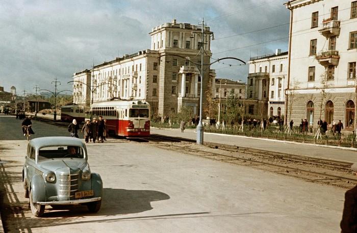 Нижний Тагил в 50-х годах СССР, Историческое фото, Длиннопост, Нижний Тагил