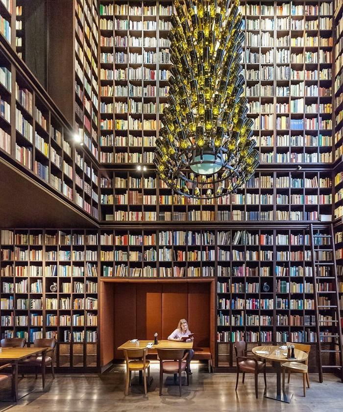 Библиотека в Цюрихе, Швейцария Красота, Фотография, Интересное, Библиотека, Книги, Цюрих, Швейцария