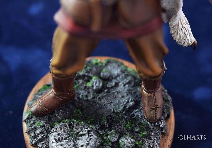 Викинг — портретная фигурка из полимерной глины. Полимерная глина, Рукоделие с процессом, Викинги, Фигурка, Коллекционные фигурки, Olhaarts, Видео, Длиннопост