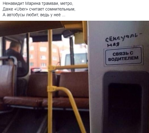Ненавидит Марина трамваи... Вижу рифму, Скриншот