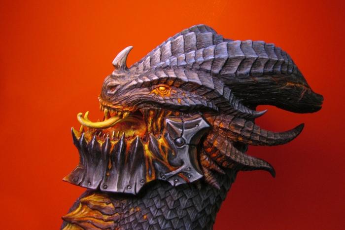 Смертокрыл (World of Warcraft) WOW, World of Warcraft, Sculpture, Blizzard, Полимерная глина, Super sculpey, Длиннопост, Смертокрыл