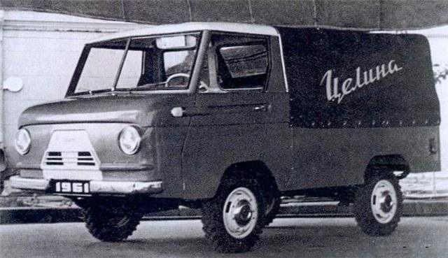 НАМИ-049А «Целина» Авто, Концепт, СССР, Нами, Длиннопост