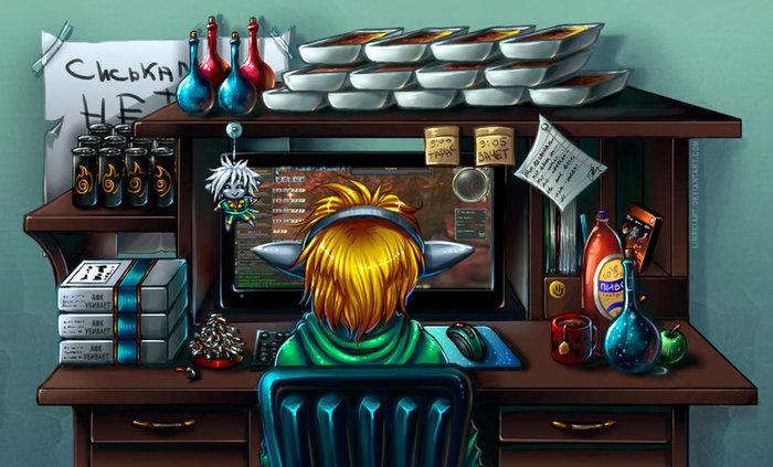 ТОП-5 самых лучших игровых ТОПов Компьютерные игры, Странный юмор, Длиннопост