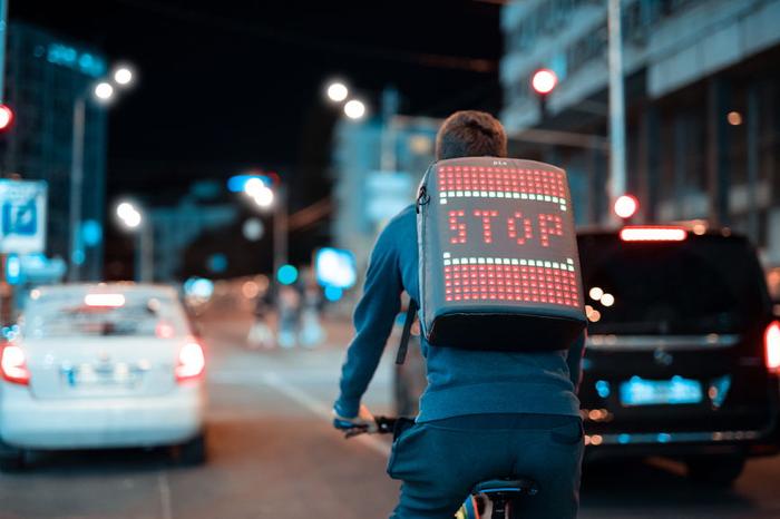 Рюкзак с LED-анимацией Pix Backpack, Рюкзак, Стартап, Не политика, Видео