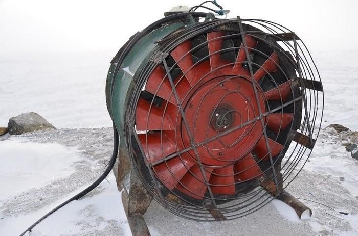 В Сибае возле карьера установили два огромных вентилятора Сибай, Смог, Чрезвычайная ситуация