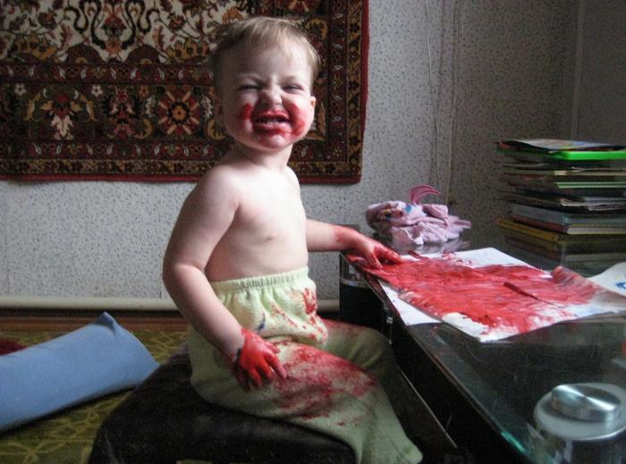 Зомби Дети, Дочь, Рисование