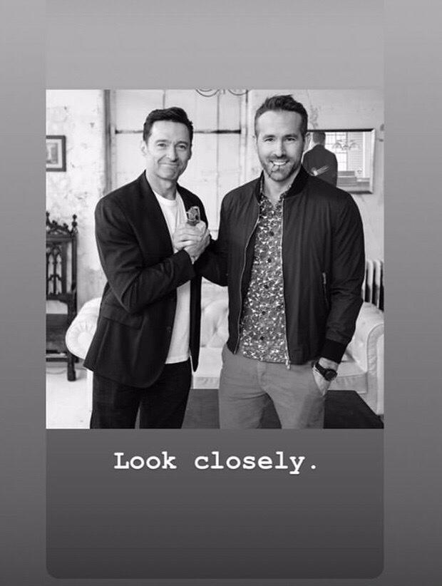 Из Instagram Райнольда Рейнольдса - Присмотрись поближе.