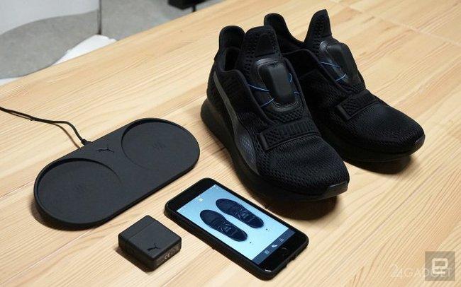 Puma выпустила свою версию самозашнуровывающихся кроссовок Пума 134b34a166fbf
