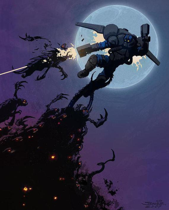 Против всех Starcraft, Starcraft 2, Reaper, Blizzard, Компьютерные игры, Зерги, Терраны