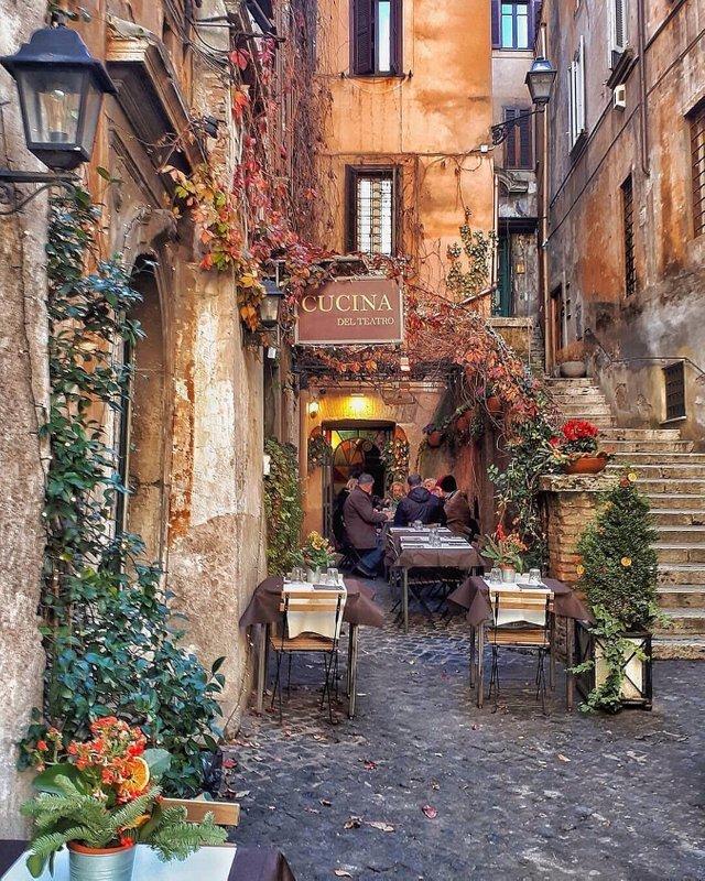 Ресторан в Вечном городе