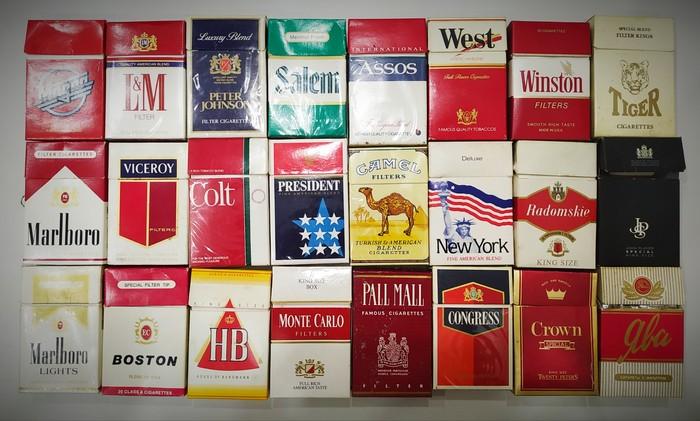 Олды тут? Сигареты, Импорт, Табак, 90-е