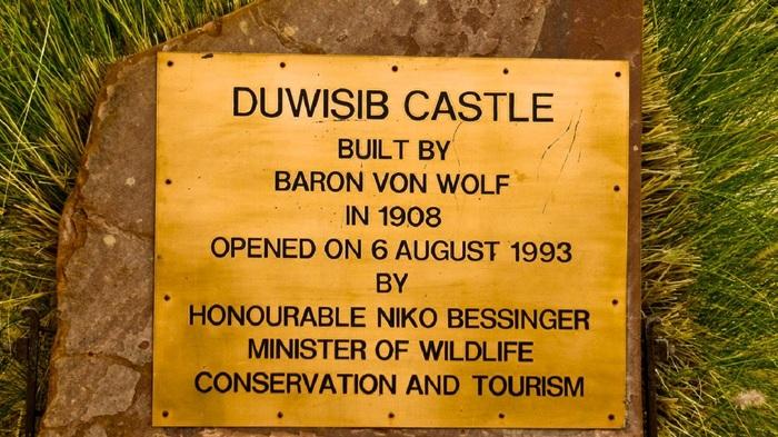 Замок в пустыне - Дувисиб Достопримечательности, Путешествия, Африка, Намибия, Замок, Видео, Длиннопост