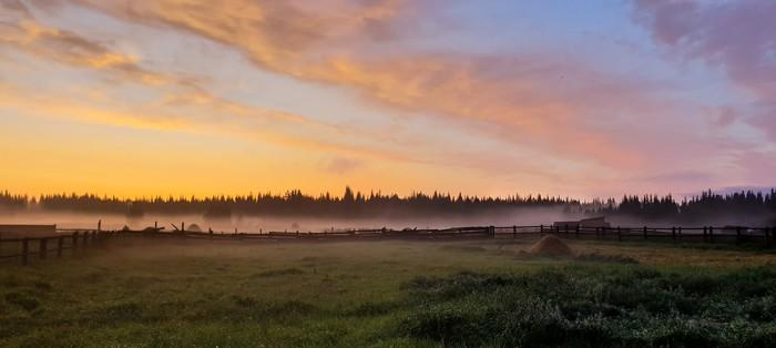 Родные края Закат, Начинающий фотограф, Природа, Любитель, Фотография