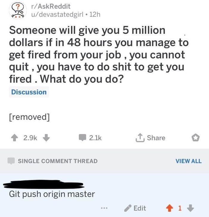 Master Reddit, IT, Юмор, Комментарии, Скриншот