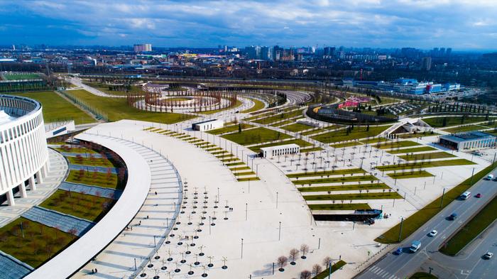 Парк Краснодар Парк, Фотография, Аэросъемка, Краснодар, Галицкий
