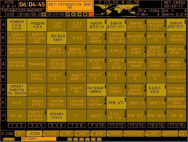 Управление космическими аппаратами. Теория и практика пилотирования Союз-ТМА. Пост #5. Форматы Отображения. Часть 3 Нептун-Мэ, Союз, Космос, Сои, Длиннопост