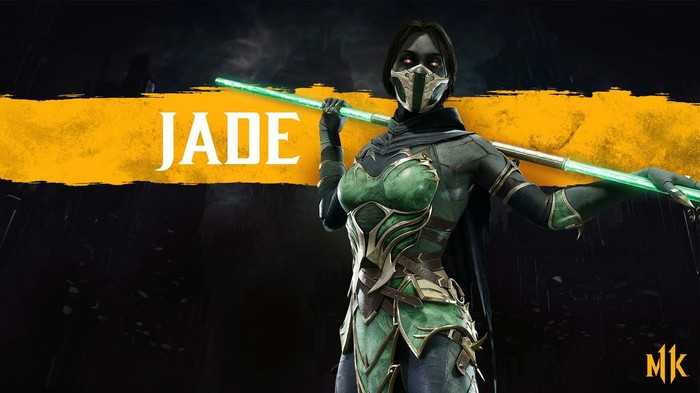 А вот и полуживую Jade с нового Kombat Kastа анонсировали Mortal Kombat 11, Mortal Kombat, Jade, Fighting, Gameplay, Геймеры, Видео