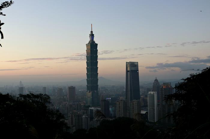 В Тайбэе наступает ночь Тайвань, Фотография, Длиннопост