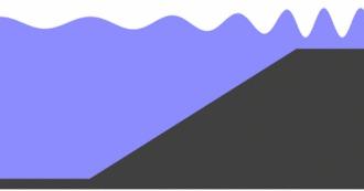 Гравитационные волны как цунами Гипотеза, Космос, Гравитация, Наука, Невероятно, Хобби, Гифка