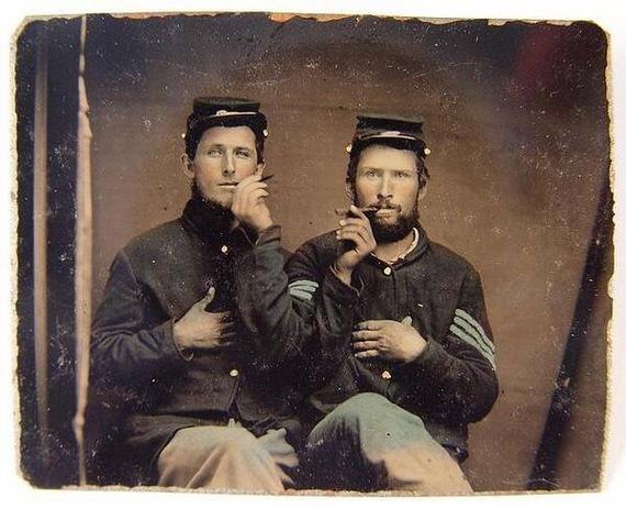 Покурить на брудершафт) 1862 год.