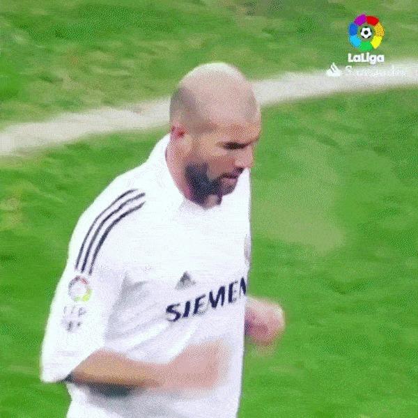Эх, было время Спорт, Футбол, Реал Мадрид, Зинедин Зидан, Гути, Гифка