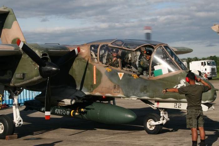 Ov-10D Bronco.Самолет-каратель. Американские самолеты, Штурмовик, Бронко, Длиннопост