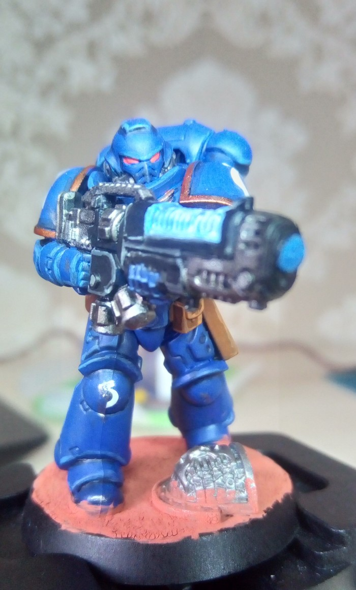Primaris Hellblaster Ultramarines, Primaris Hellblasters, Primaris Space Marines, Длиннопост, Warhammer 40k, Wh miniatures