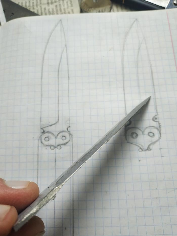Нож-бабочка своими руками из Ð¿Ð¾Ð´Ñ€ÑƒÑ‡Ð½Ñ‹Ñ ÑÑ€ÐµÐ´ÑÑ'в. Нож-Бабочка, Своими руками, Длиннопост, Нож, Ручная работа, Работа с деревом, Хобби
