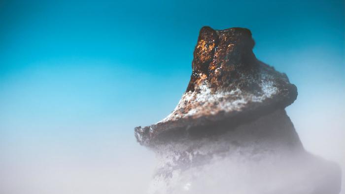 Странная гора Фотография, Макро, Иллюзия
