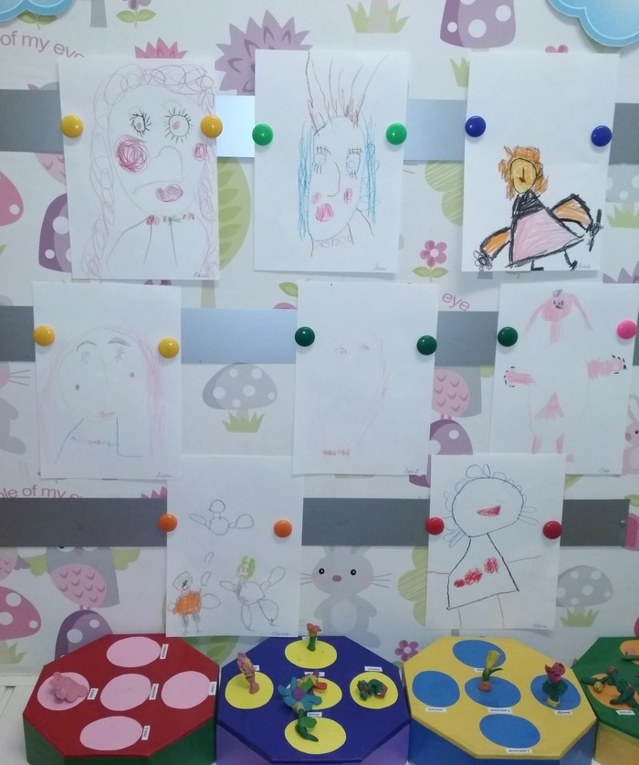 Для любимых мам Детский сад, 8 марта, Дети, Рисунок, Милота
