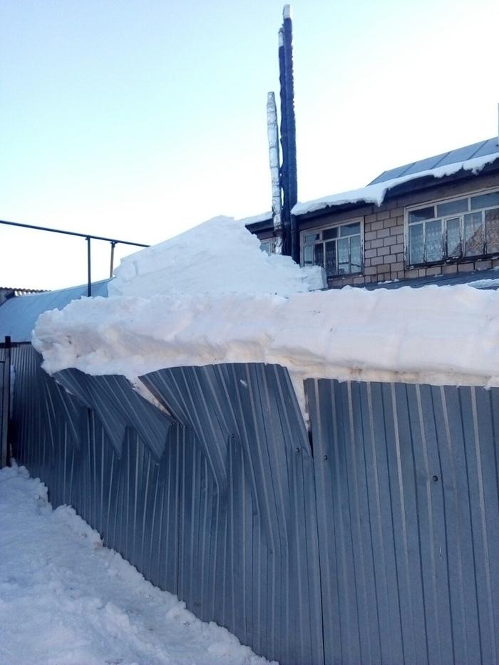 ''Снег не дурак-растает и так!''- Соседи, Гений, Накипело