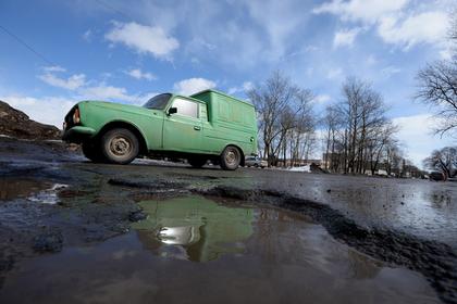 На Украине ответственный за дороги чиновник попал в ДТП из-за ямы на дороге Украина, Юмор, Дураки и дороги, Чиновники, Яма