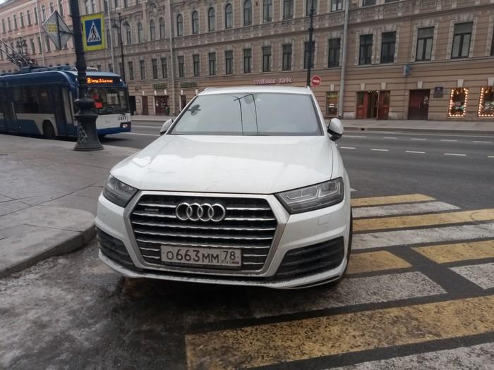 Отличное место для парковки Санкт-Петербург, Неправильная парковка, Нарушение ПДД, Авто, Быдло