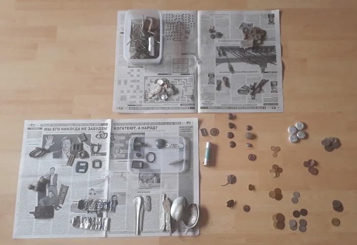 Что можно найти с металлоискателем за 1,5 года копа Находка, Нумизматика, Монета, Видео, Длиннопост