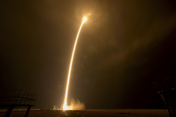 Запуск Союза МС-12 к МКС