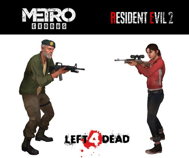 Мой мир перевернулся Metro, Metro Exodus, Resident Evil, Resident Evil 2: Remake, Left 4 Dead, Игры, Компьютерные игры, Геймеры