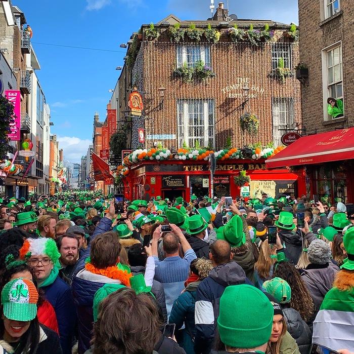 С Днём святого Патрика из Дублина!