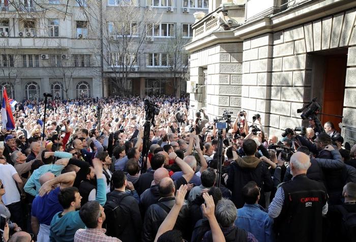 Что там в Сербии? Сербия, Политика, Протест, Митинг, Новости, Длиннопост