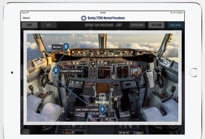 Пилоты учились летать на Boeing 737 MAX при помощи iPad Боинг, Раздолбайство, Boeing-737