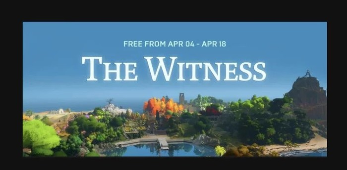 The witness Не Steam, Epic Games Store, Головоломка, Игры, Компьютерные игры, The witness, Epic Games, Пазл