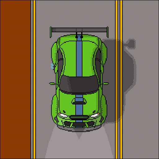 Car III Pixel Art, Арт, Авто, Pixelcar, Пиксель