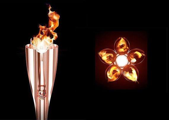 Факел Олимпийских игр 2020 года Япония, Олимпийские игры, 2020, Факел