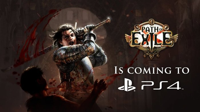 Path of Exile вышла на PS4 Path of Exile, PS4 игры, Playstation 4, Action RPG, Компьютерные игры