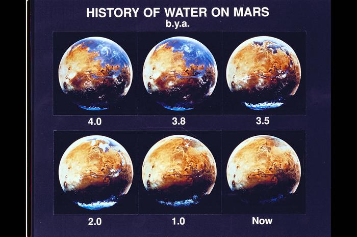 Реки на Марсе поставили новую загадку перед учеными Марс, Планета, Космос, Астрономия