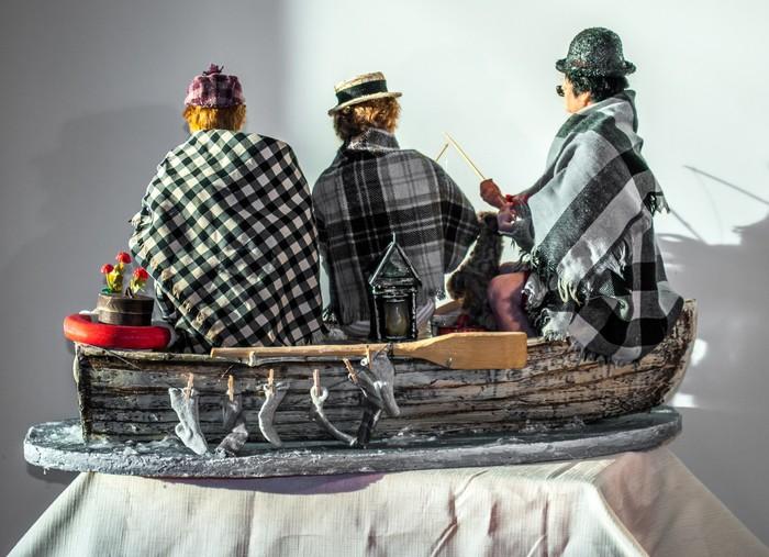"""#3 портретные куклы по фильмам. """"Трое в лодке, не считая собаки"""". Портретная кукла, Куклы ручной работы, Длиннопост"""
