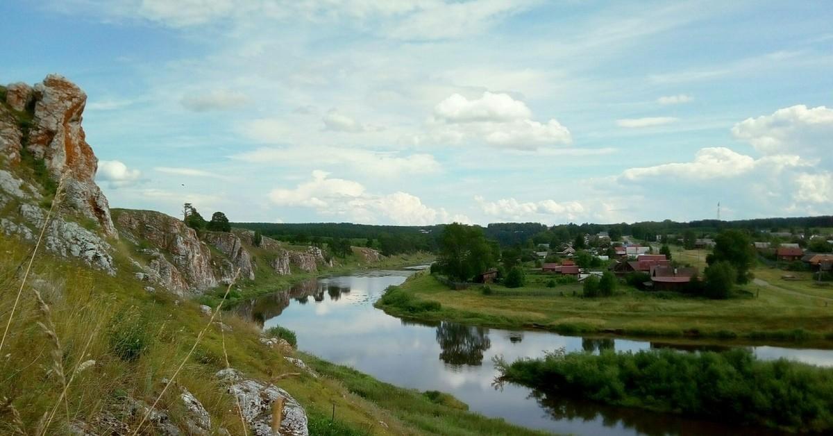 фото уральских деревень центральной
