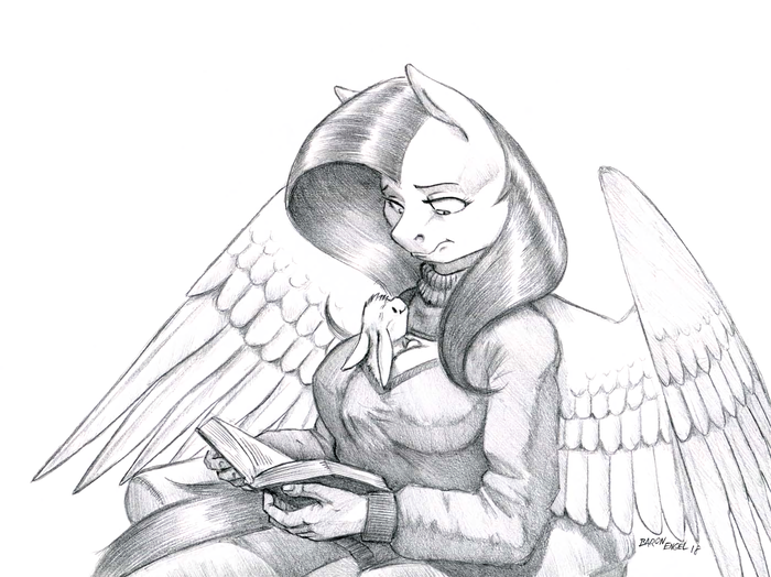 Um, Angel? My Little Pony, Fluttershy, Angel Bunny, Антро, MLP Edge, Baron Engel